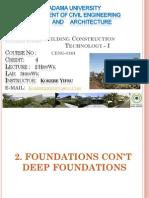 Foundation Week 4