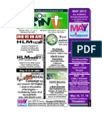 May 12 2013 Newsletter Worship Experience _ Moms Day Sunday