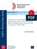 Dinerstein_2008_ESRC Non-Governmental Public Action Programme Research Paper No 9 Httpwww.lse.Ac.ukcollectionsNGPApublicationsWP9_Politics_of_Unemployment