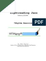 [Theory] - Sight Reading Jazz - Rhythm Exercises
