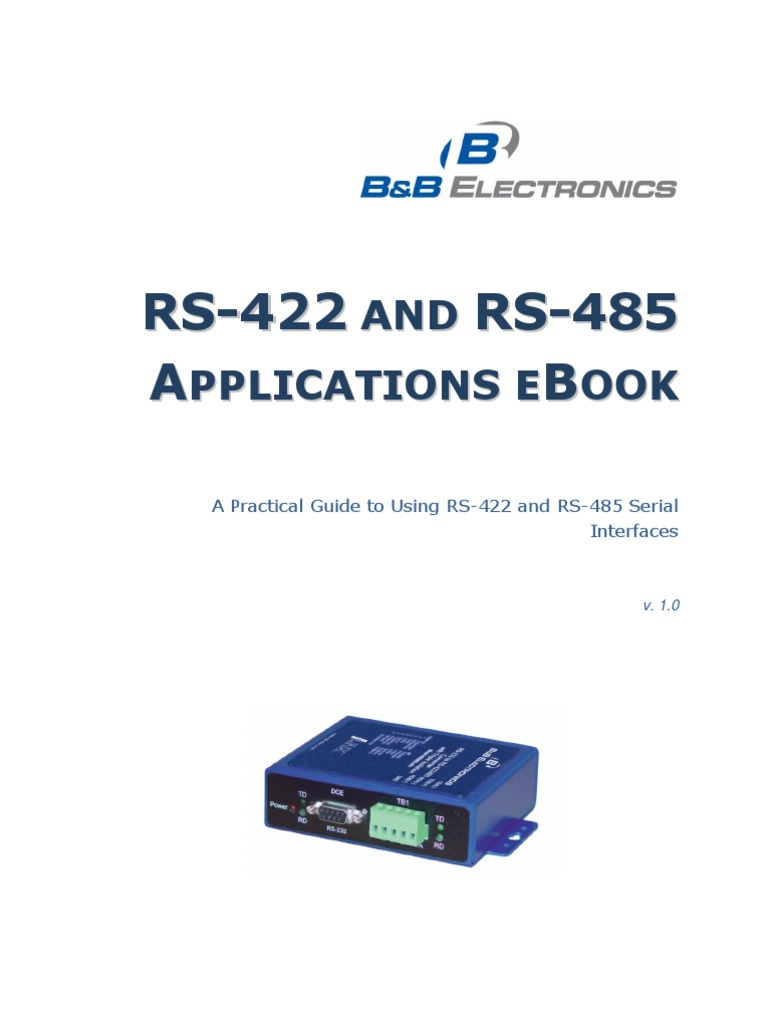 Manual Rs422 E Rs485 Network Topology Transmission Line Usb To Serial Surge And Optical Isolation Converter 485