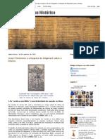 Em Busca do Jesus Histórico_ Israel Finkelstein e a Epopéia de Gilgamesh sobre o Dilúvio