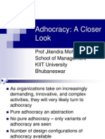 Adhocracy - A Closer Look