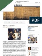 Em Busca do Jesus Histórico_ O Evangelho de Tomé