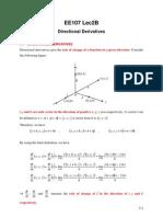 EE107 SP 02B Directional Derivatives Directional Derivatives