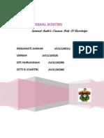 Makalah Audit Internal Chapter II