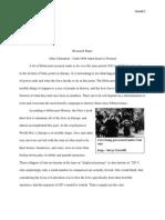 Jonny Woods ENG 101-101 Research Paper