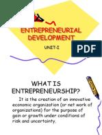 36006828 Entrepreneurial Development Unit 1