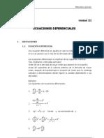3MAT-Ecuaciones diferenciales