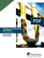 Tubos industriais em PRFV