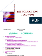Dwdm Introduction