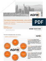 DistrictHeating Barometer AGFW Germany
