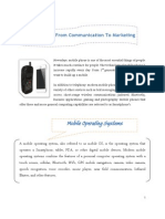 Mobile Technology - Infographics Document