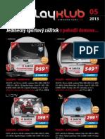 Leták PlayKlub 5/2013