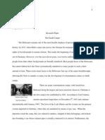Jennifer Carlson 101-104 Research Paper