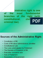 Administrative Right