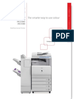 Canon Irc 2880 3380 i Photocopier Brochure