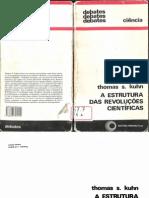 KUHN, Thomas S.  A estrutura das revoluções científicas (1)
