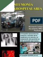 Neumonia nosocomial o intrahospitalaria en Pediatria
