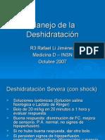 Manejo de Deshidratación en Pediatria