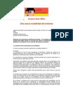 Jacques-Alain Miller - Una nueva modalidad del síntoma
