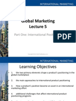 Lecture on Global Market