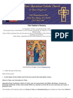 Byzantine Rite - Eastern Rite ROSARY