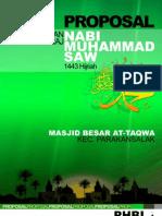 Proposal PHBI Isra Mi'Raj At-taqwa 2013