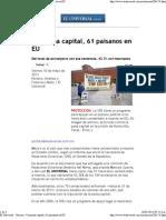 10-05-13 El Universal - Con pena capital, 61 paisanos en EU