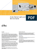 A-Dec Dental Lights and Monitor Mounts Service Guide