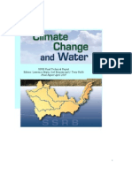 Climate Change and Water. Martz