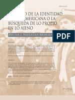 el sueño de la identidad latinoamericana
