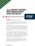Buildings Under Refurb and Retrofit