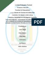 perfil sociodemográfico de los estudiantes de la facultad de humanidades de la UPNFM
