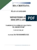 Ministerio de Discipulado-plan Avanzado