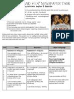 Manami's Newspaper Assessment Sheet (assessed)