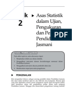 Topik 2 Asas Statistik Dalam Ujian, Pengukuran Dan Penilaian Pendidikan Jasmani