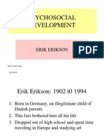 eriksons psychosocial perspective