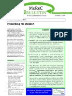Kesehatan Anak 111219b Dr Isnatin Merec Bulletin Vol11 No2
