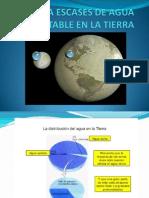 La Escases de Agua Potable en La Tierra