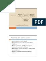 Automatas Lexico Gramatica Patrones