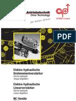 Servo Hydraulic Brochure