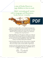Gecko Press Catalogue 2012