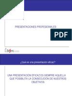 Presentaciones Profesionales