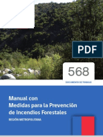 Manual Prevencion de Incendio Forestales Perú