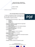 P.R.A. de Planificação do Projeto
