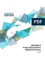 Interim Report of the Nova Scotia Commission on Building Our New Economy