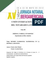 03-Regimen Patrimonial Matrimonial