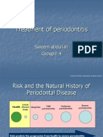 Risk and Risk and Periodontal Disease ManagementPeriodontal Disease Management