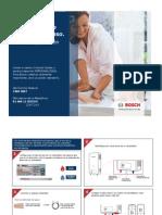 Calentadores Bosch (Guía instalación)